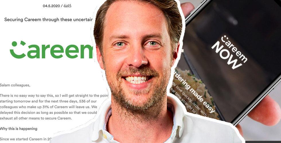Uber köpte Magnus Olssons miljardbolag för ett år sedan – nu tvingas var tredje lämna