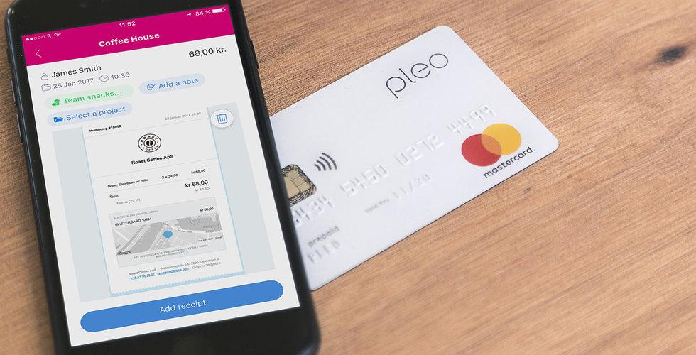 Kinnevik pumpar in miljoner i danska kortbolaget Pleo