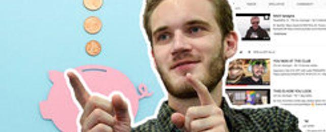 Pewdiepie petades från tronen av T-series  – men Youtube-stjärnan blev ändå en vinnare
