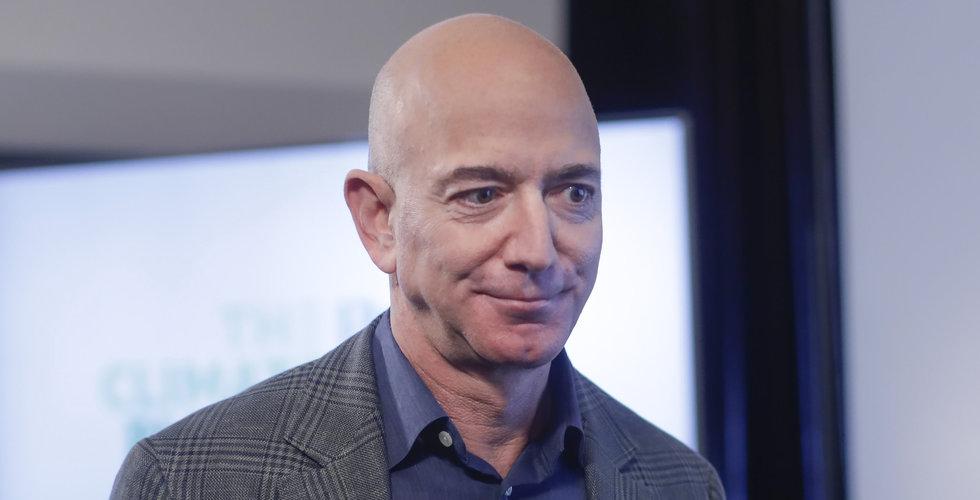 Jeff Bezos säljer Amazon-aktier för över 55 miljarder
