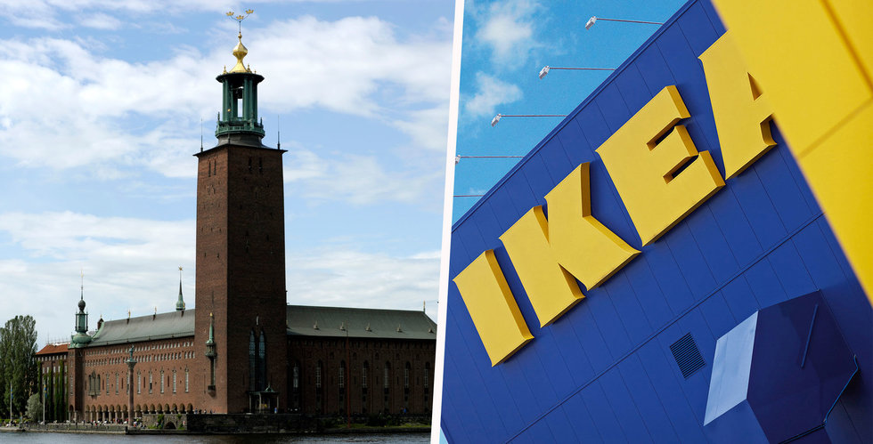 Ikea miljardsatsar i Stockhom