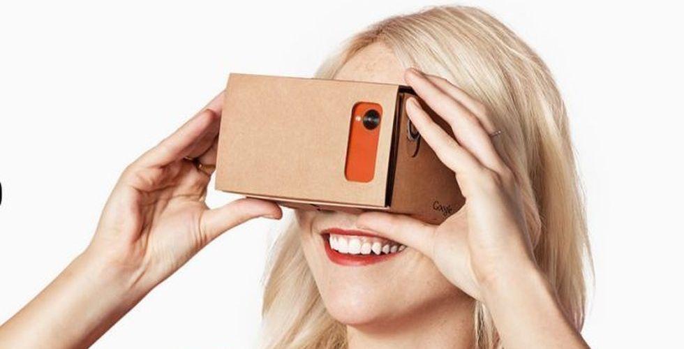 Google gör nytt VR-headset - med plast istället för pappskivor