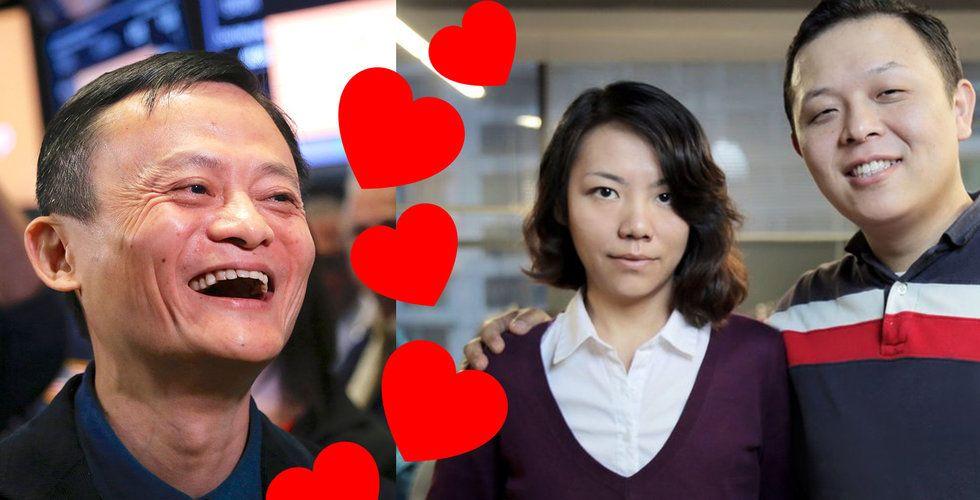 Alibaba är en av investerarna i svenska dejtingappen Tantan