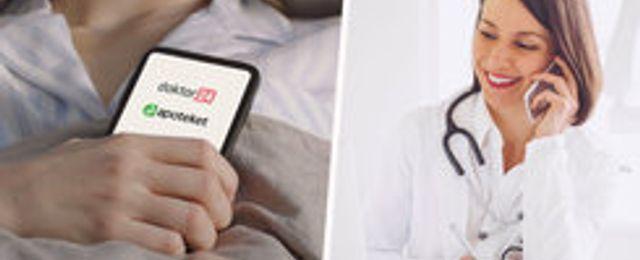 Statliga Apoteket köper in sig i digitala vårdgivaren Doktor24