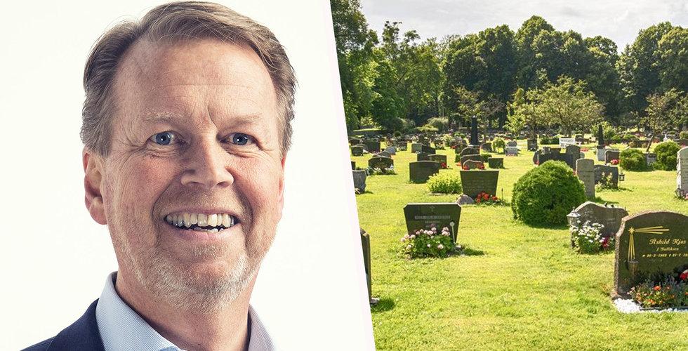 Begravningsjätten Fonus satsar digitalt och på lågpris