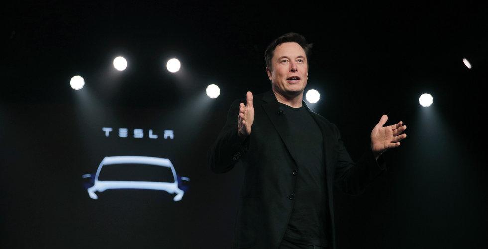 Tesla visar upp nya eldrivna pickupen den 21 november