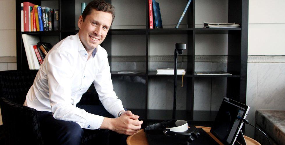Breakit - Kämpade för att få in riskkapital - nu satsar AR-startupen på börsen