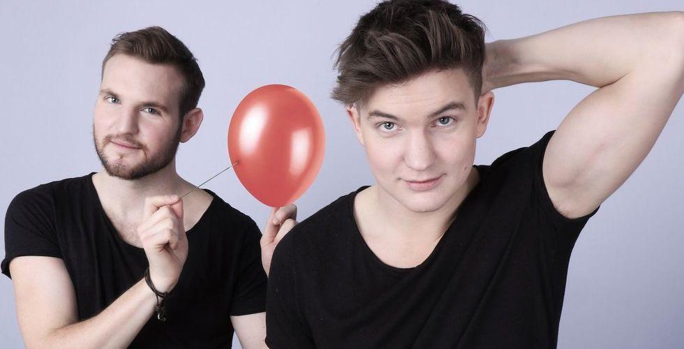 Breakit - Bröderna som tog över Youtube – nu ska duon börja göra affärer