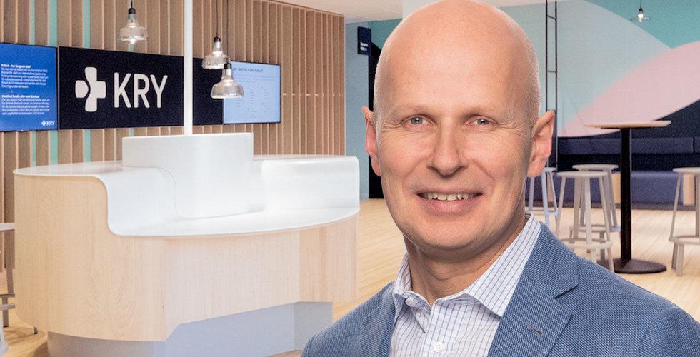 "Erik Hjemstedt ny Sverigechef på Kry: ""Behöver växla upp ledarskapet"""