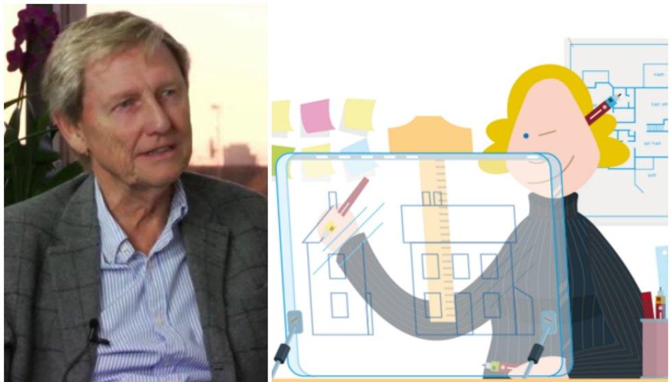 Jan Älmeby startade Fortnox - nu lanserar han en ny konkurrent