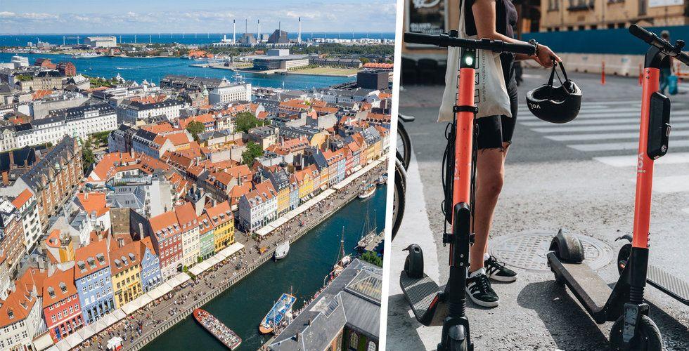 Risk för bakslag för Voi – kan knuffas undan av bänkar och toaletter i Köpenhamn