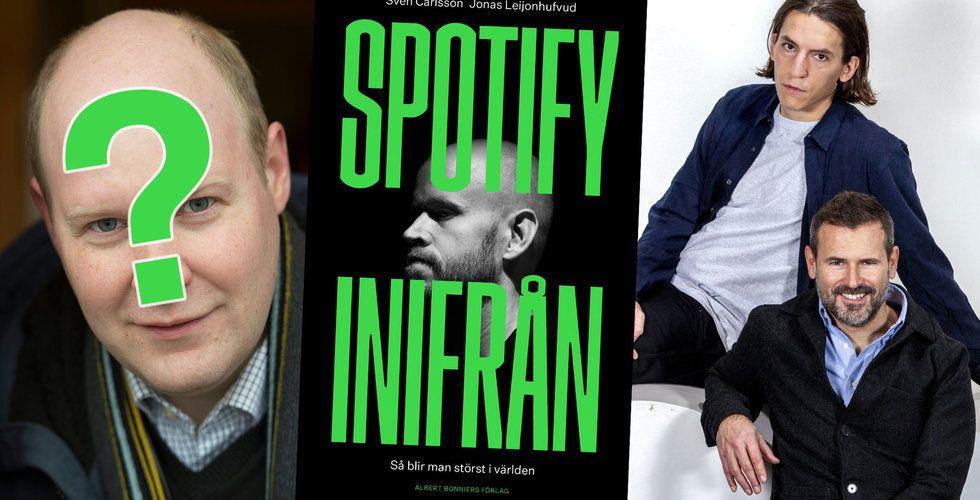 Spotify blir Netflix-serie –hoppas på Dorsin som Daniel Ek