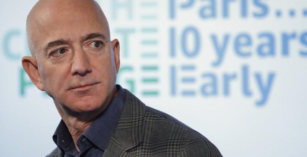 Jeff Bezos: Bra beslut att höja skatten för företag