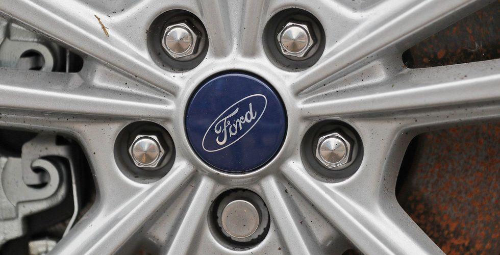Ford köper två startups för sin satsning på mobilitetstjänster