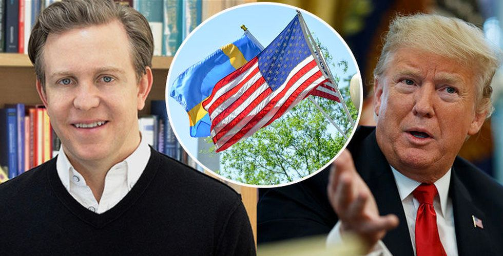 Paypal-grundaren Ken Howery blir USA:s ambassadör i Sverige
