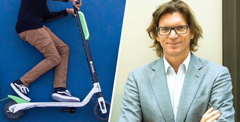 Elscooterföretaget Lime tar in 335 miljoner dollar – Skype-grundaren investerar