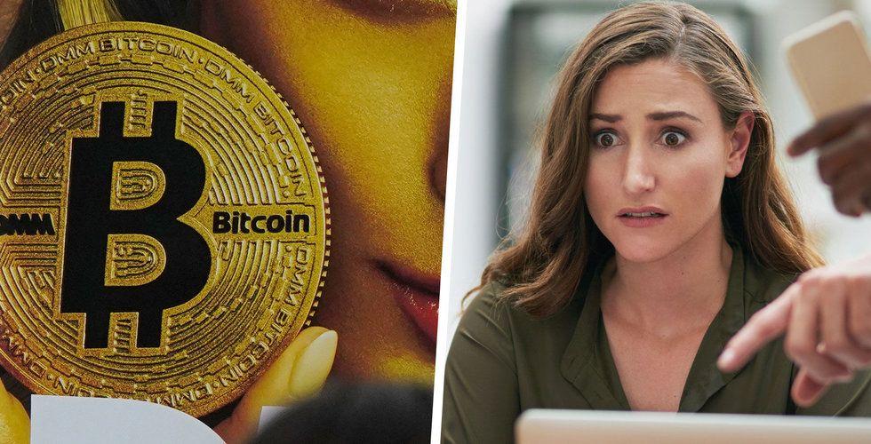 Bitcoin fortsätter falla – har tappat 15 procent de senaste dagarna