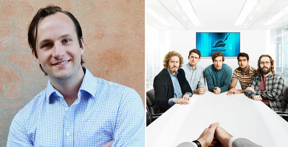 Svenske entreprenören: Vi är Pied Piper – men ett halvår före