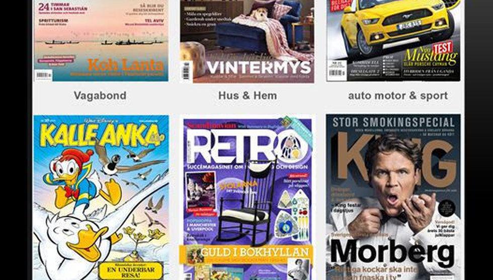 Breakit - Egmont startar Readly-utmanare - men bara för egna magasin