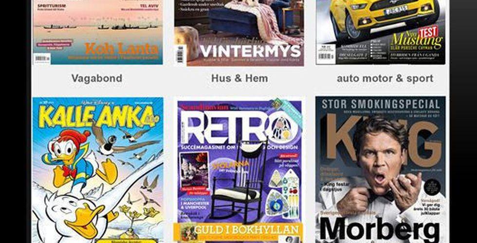 Egmont startar Readly-utmanare - men bara för egna magasin