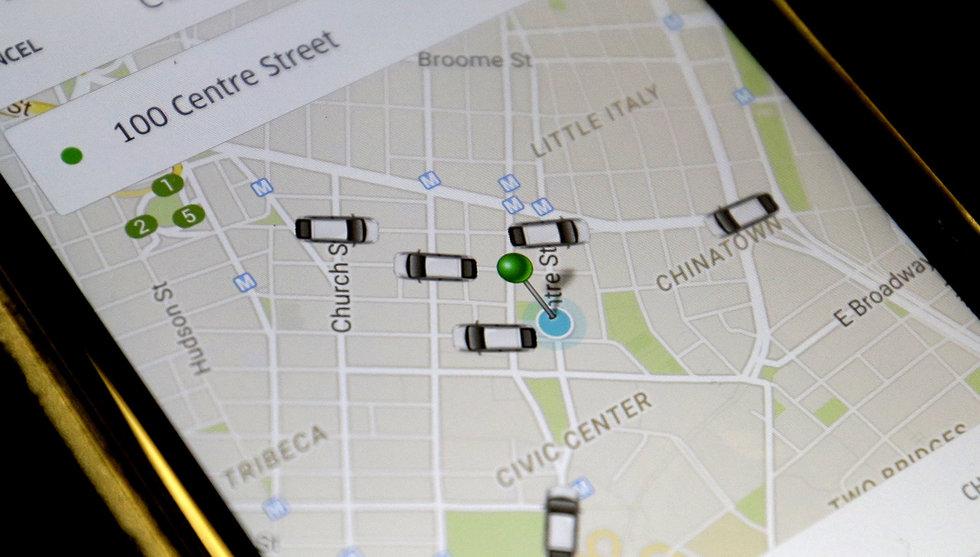 Nu ska Uber hjälpa sina förare att hitta både bensin och toaletter
