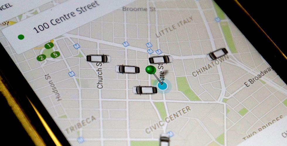 Breakit - Nu ska Uber hjälpa sina förare att hitta både bensin och toaletter