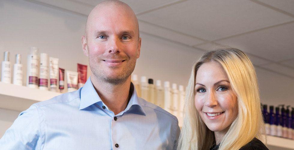 Annica Forsgren Kjellman och Mikael Kjellman säljer Skincity