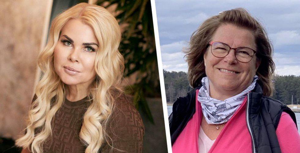 Pernilla Nyrensten, grundare och vd RevolutionRace, och Birgitta Hagenfeldt, styrelseledamot Avanza.