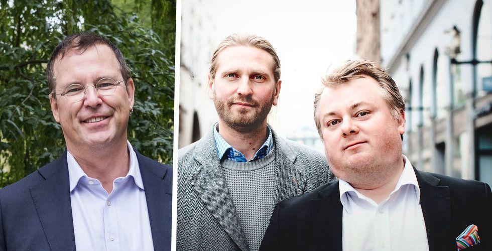 """Anders Borg satsar på Danads: """"Vi har en kö av kunder"""""""
