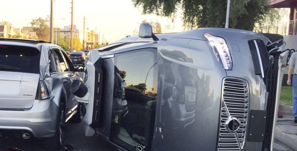 Breakit - Efter kraschen – nu rullar Volvos självkörande Uber-bilar igen
