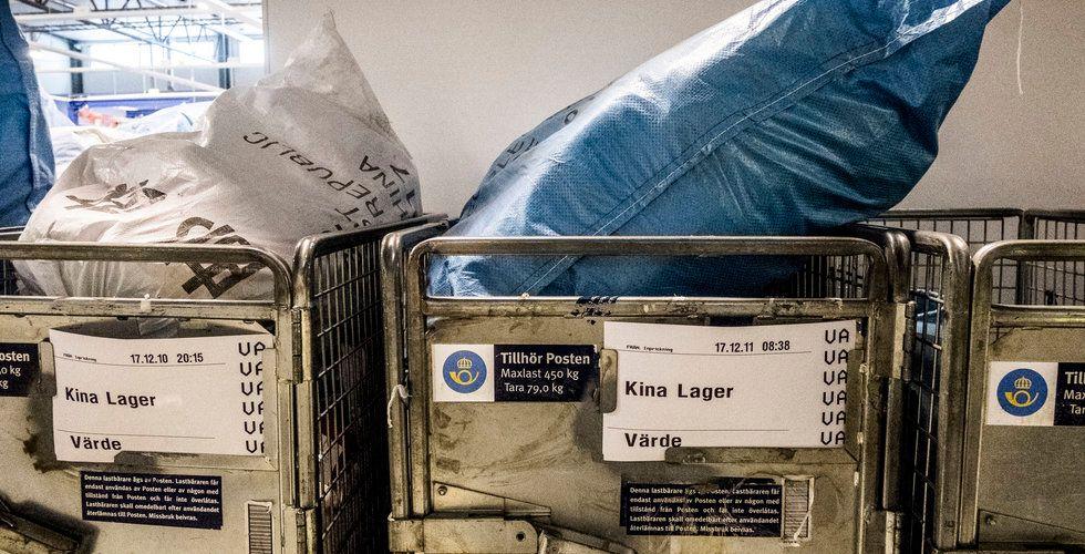 Postnord och Tullverket i krismöte – om hanteringen av Kinapaket