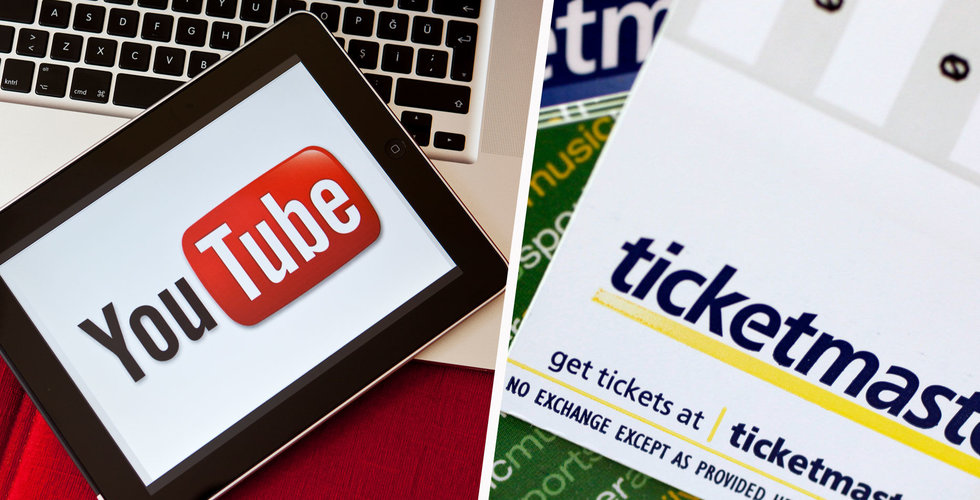 Breakit - Youtube och Ticketmaster i samarbete – ska sälja biljetter