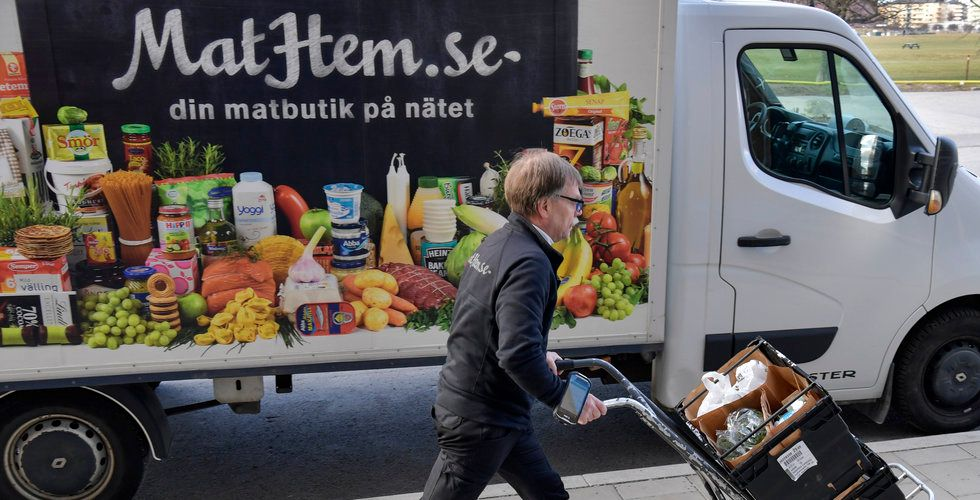 Mat på nätet boomar – så går det för Kinneviks utmanare Mathem