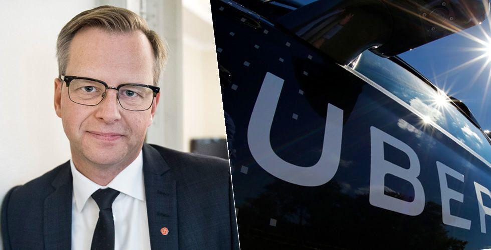 """Breakit - Damberg om Uberskandalen: """"Trodde inte sånt här förekom i Sverige"""""""
