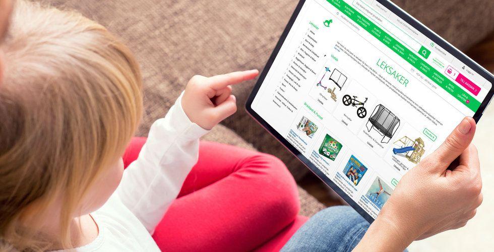 Cdon utmanar Babyshop och Jollyroom – satsar på leksaker och barnprylar