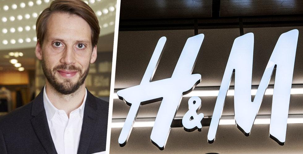 Breakit - H&M byter Sverigechef då Daniel Ervér går in i global roll