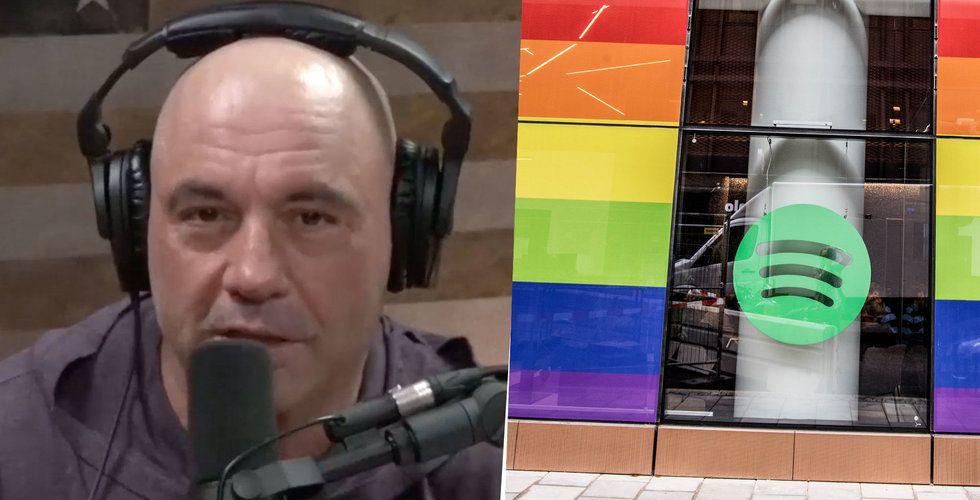 Läckt mejl avslöjar: Spotify försvarar Joe Rogan
