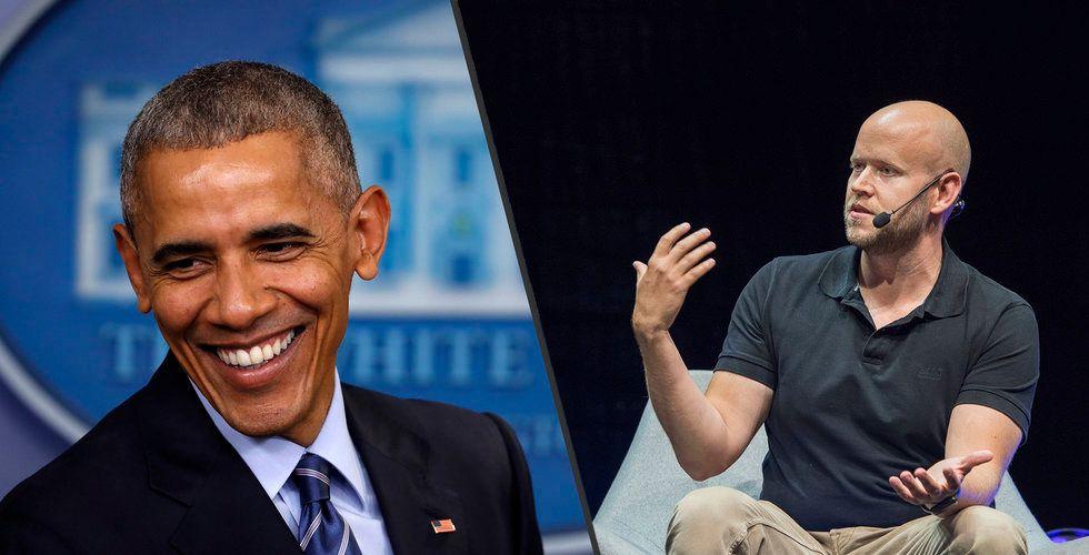 """Breakit - Daniel Eks passning till Obama: """"Har du kollat in den här?"""""""