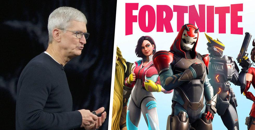 Epic Games vänder sig till domare för att få Fortnite återställt på App Store