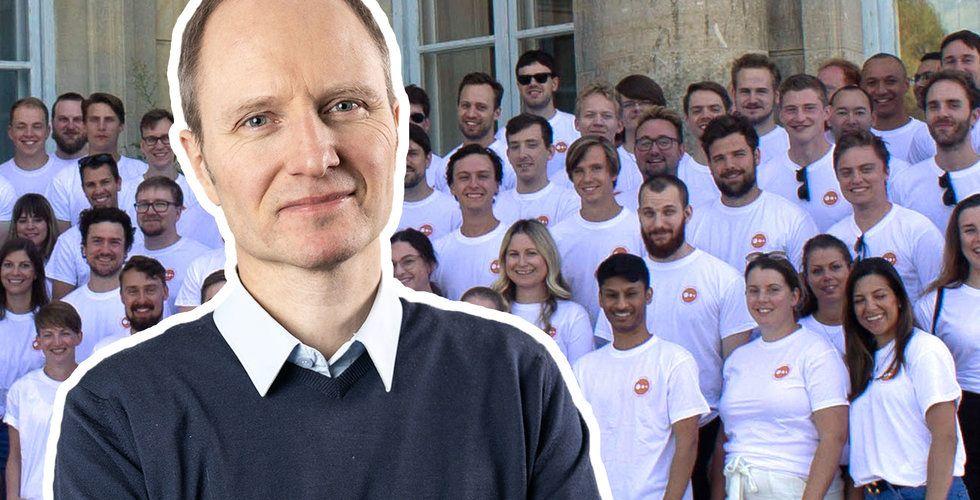 Fredrik Skantze med team. Foto: Press/Montage