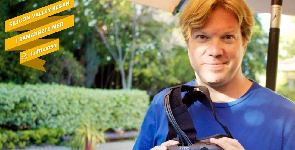 Breakit - Vi åkte hem till Rikard Steiber – och testade coola VR-grejer