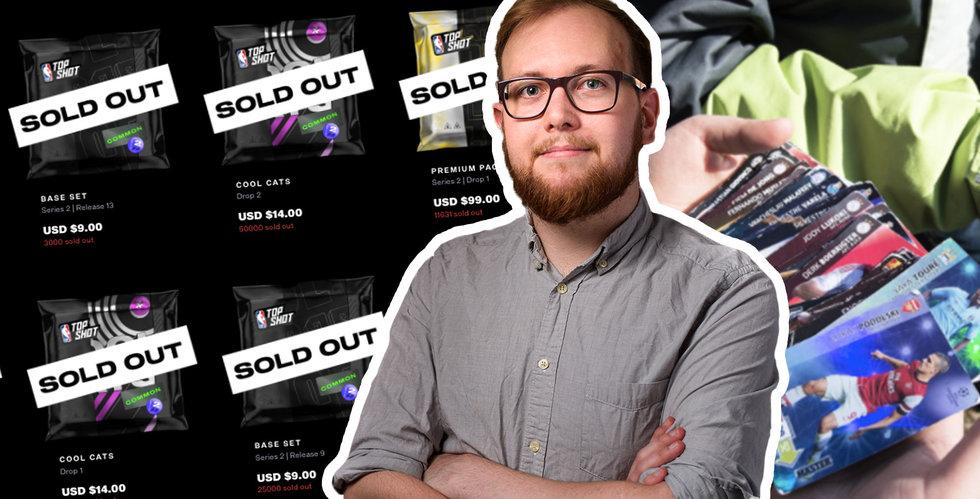"""Heta krypto-trenden säljer konst och samlarkort för enorma summor: """"Skapar helt nya affärer"""""""