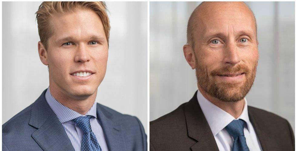 Carl Armfelt och Erik Sprinchorn jagar börsdebutanter – ska investera miljarder i techbolag