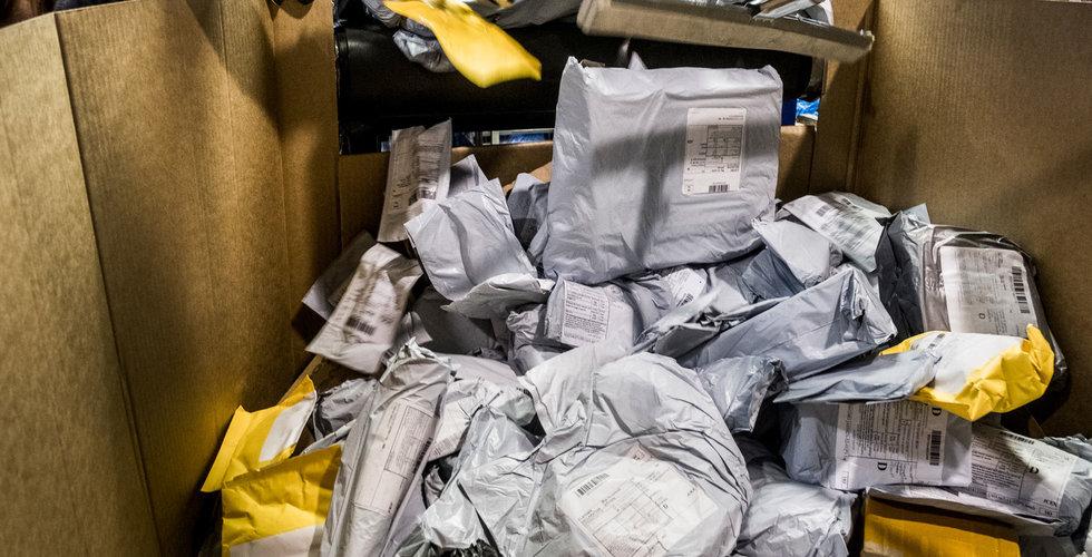 Dråpslag mot Kinapaketen – nu vill Postnord chockhöja avgifterna