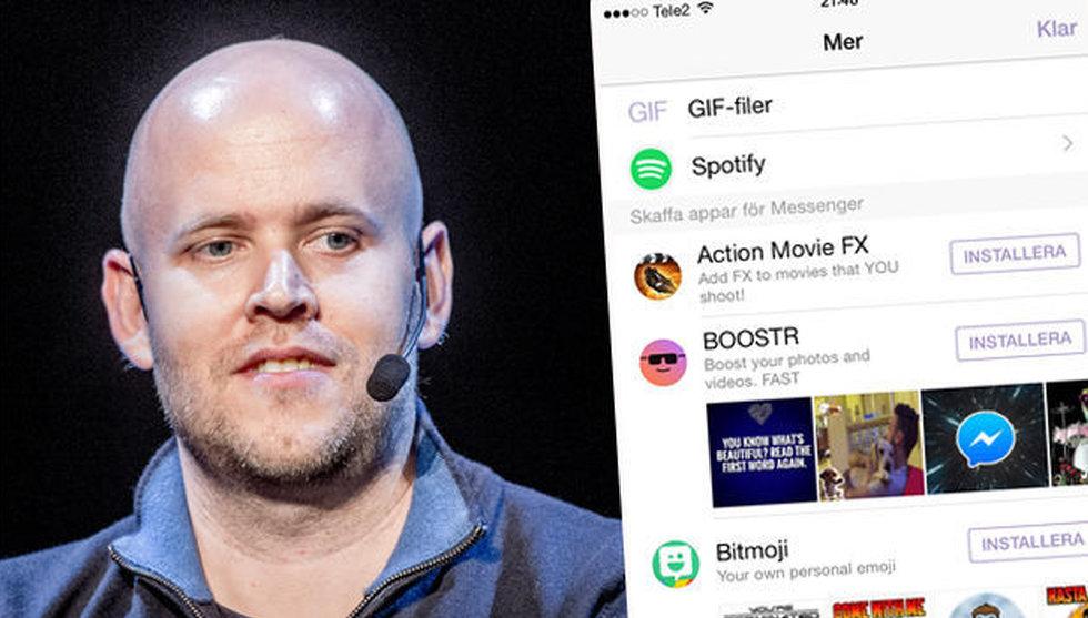 Breakit - Ny funktion låter dig skicka Spotify-låtar med Messenger