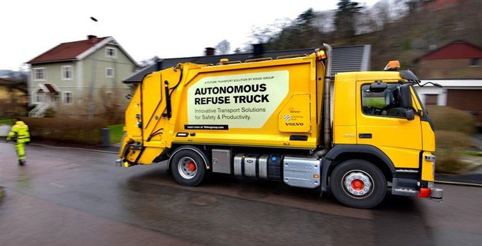 Breakit - Volvo ska ta fram självkörande sopbilar