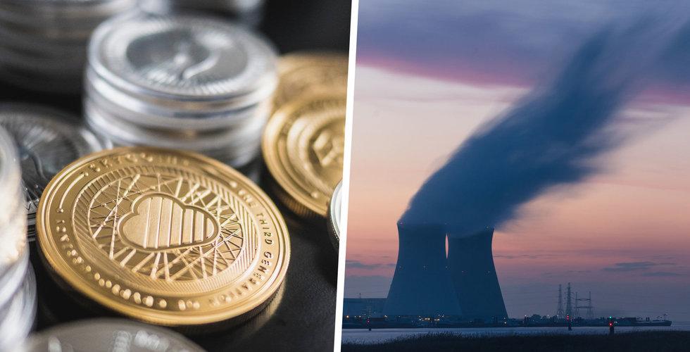 Kopplade upp kärnkraftverket för att gräva fram kryptovaluta