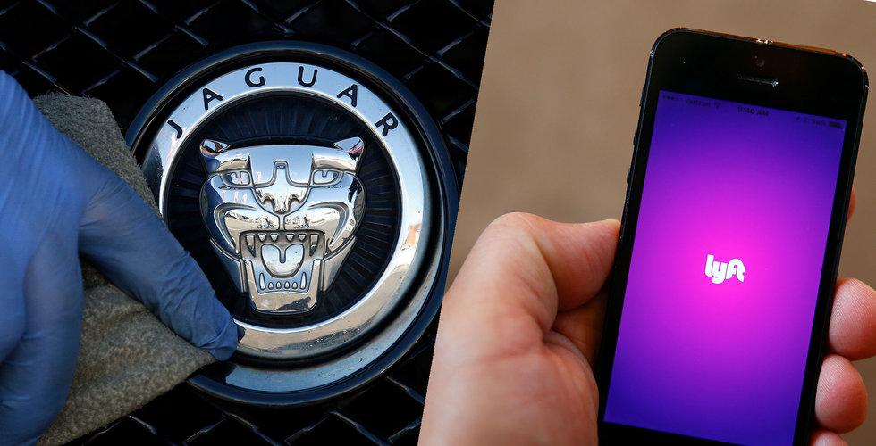 Jaguar investerar i Uber-rival – värderas till 65 miljarder kronor