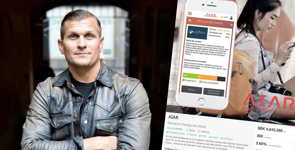 AIAR tog in miljoner via Fundedbyme – begärs i konkurs av sina anställda