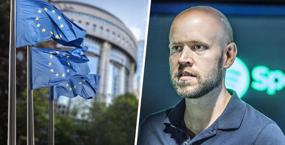 EU-parlamentet sade precis ja till Spotifys mardrömsskatt